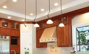 kitchen spot lighting. Pendant Lights And Spot On The Ceiling Of A Kitchen Lighting T