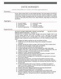 Accounts Clerk Resume Senior Accounting Clerk Resume Sample Valid 30 Accounts Payable