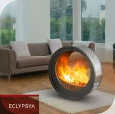 Portable fireplace-