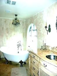 chandeliers chandelier in bathroom crystal chandeliers master wall lig