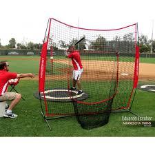 PowerNet Baseball Net 7x7 (RED) - $69.99 Training Nets | Practice