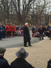 "Judy Beltzner on Twitter: ""Beautiful Remembrance Day ceremony at Manotick  Cenotaph. Klaus Beltzner & Janice Domaratzki laid the MVCA wreath:  https://t.co/9dWSmRFivf"""