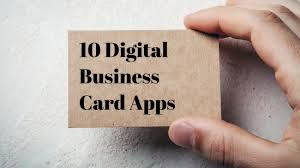 Membership Cards Templates Best 48 Apps For Creating A Digital Business Card Small Business Trends