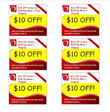10 Off Coupon Template 50 Free Coupon Templates Template Lab