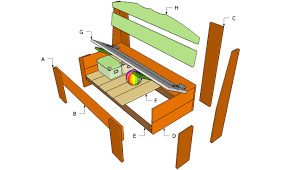 pdf diy outdoor bench seat with storage plans