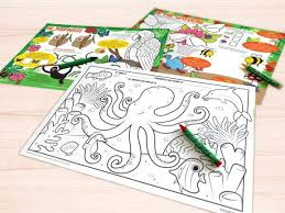 Another option is to hire an artist to create coloring pages for. Restaurant Colouring Boards Sheets Crayons Activities Keeko Kids