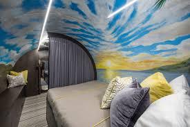 #ImpactOfDesign | Master Bedroom Of The Future! | Stylish Underground  Shelter Modern Bedroom