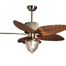 2019 51 ceiling fan light 5 blades study room bronze ceiling fan glass lampshade living room luxury plasitic fan blade bedroom ceiling fans from ouovo