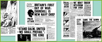 The scheme is presented as one long unit but can easily be divided into shorter lessons. Early Learning Resources World War Ii Historic Newspaper Reports Second World War Newspaper Articles