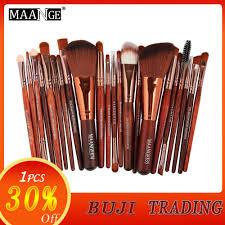 maange 22pcs makeup brushes set professional cosmetic brush foundation powder eyeshadow eyeliner bulsh beauty make up