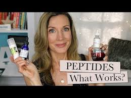 <b>Peptides</b> for Anti-Aging ~ Do They Work? How To Choose - YouTube
