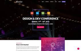 website template video 20 highly customizable video website templates 2018 colorlib