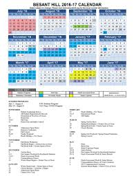 calendars events besant hill school yearly calendar 2016 17