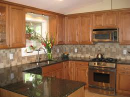 maple kitchen cabinets backsplash. Kitchen Granite Countertops And Backsplash Ideas Unique Light Maple Cabinets With P