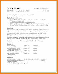 Administrative Assistant Resume Skills Administrative Assistant