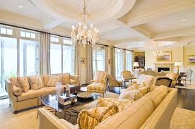 Living Room Gorgeous Living Room Idea With Formal Cream Sofa And