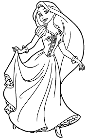 New Princess Coloring Pages Rapunzel Gallery Printable Coloring