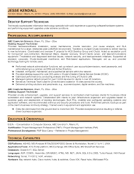 desktop support resume getessay biz desktop support technician example in desktop support cv