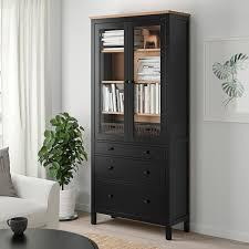 ikea glass cabinet doors hemnes