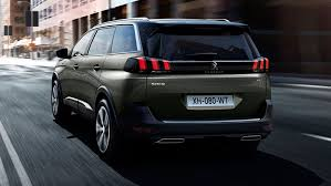 2018 peugeot 5008 review. modren 2018 2017 peugeot 5008 rear view in 2018 peugeot review
