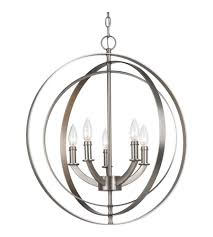 progress p3841 126 equinox 5 light 22 inch burnished silver chandelier ceiling light