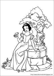 Small Picture Snow White Coloring Pages free For Kids