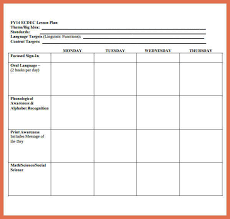 downloadable lesson plan templates printable lesson plan template bio example