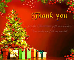 Christmas Thank You For Free Thank You Ecards Greeting