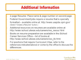 additional information resume additional information additional info resume  example