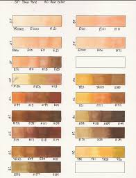 Skin Scanner Color Chart From Crayons To Copics Card Making Ideas Free Designs