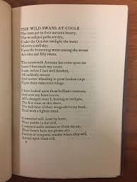 researching william butler yeats in special collections notes characteristic cuala press typography a page from w b yeats the wild swans at coole