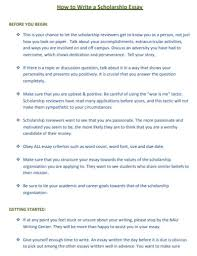 Free 20 Scholarship Essay Examples Samples In Pdf Examples