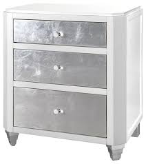stunning white lacquer nightstand furniture. Stunning Silver Leaf Nightstand With Myrna Hollywood Regency White Lacquer  Stunning White Lacquer Nightstand Furniture