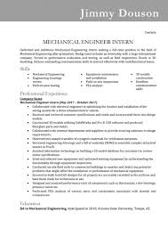 Mechanical Engineering Technologist Resume Mechanical Engineering Technologist Resume Sample And Free Download 8