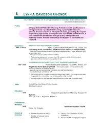 Resume Profile Extraordinary Resume Profile Examples Professional Template Tangledbeard