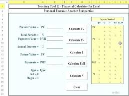 Finance Excel Functions Financial Calculator Excel How To Calculate The Present Value Of An