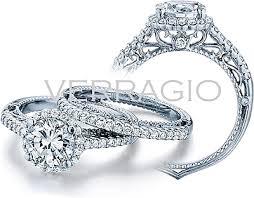 verragio round halo diamond engagement ring afn 5022r