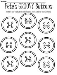 Pete The The Cat And His Four Groovy Buttons Worksheets Teaching