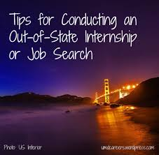 How To Get A Job Out Of State Tips For Conducting An Out Of State Internship Or Job Search Peer
