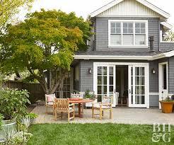 shingle siding house. Home Exterior, Landscaping, Patio Furniture Shingle Siding House E