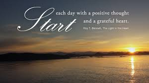 The Light In The Heart Start Each Day With A Positive Thought Positive Thoughts