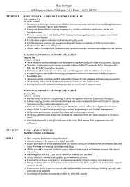 Technical Support Specialist Resume Sample Tomyumtumweb Com