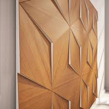 image of nice 3d wood wall panels