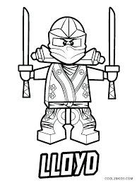Ninjago Lloyd Coloring Pages Ninja Coloring Page Thumbnail Of Pages