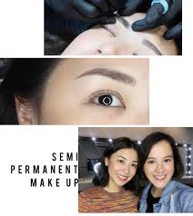 a ton of you guys have been leaving me messages and questions about my recent ig story featuring permanent make up manila well to answer all of your
