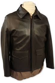 authentic indiana jones raiders of the lost ark leather jacket in brown goatskin