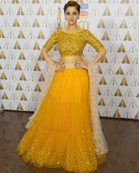 Lehenga Design In Yellow Colour Yellow Net Lehenga Choli Dandiya Dress Indian Wedding