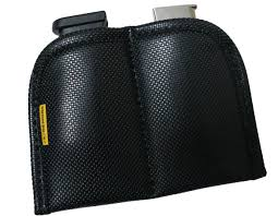 Double Stack Magazine Holder Dual Mag Holder for IWB carry features Remora non slip material 58
