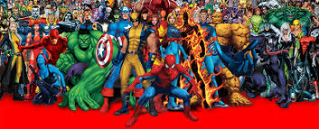 this map shows where the most famous marvel characters are from Superhero Map this map shows where the most famous marvel characters are from super hero map minecraft