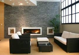 Modern Living Room With Fireplace Astounding Modern Living Room Decoration Using Red Living Room